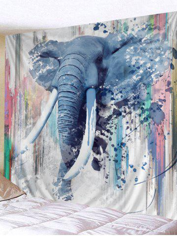 Best Walking Elephant Print Wall Hanging Tapestry