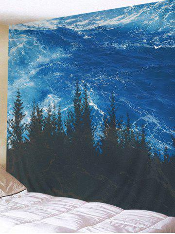 Store Sea Forest Printed Wall Hanging Art Tapestry