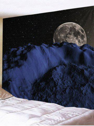 Shop Starry Night Earth Print Wall Art Tapestry