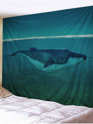 Hot Sea Cetacean Print Wall Art Tapestry