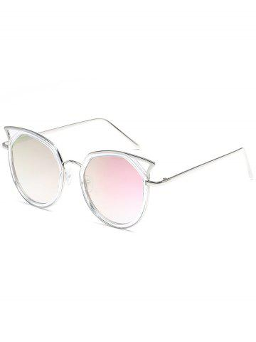 Outfit Hollow Out Pattern Metal Full Frame Driver Sunglasses