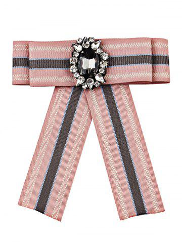 Best Striped Pattern Faux Gem Party Wedding Brooch
