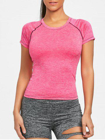 Exposed Seam Workout T-shirt
