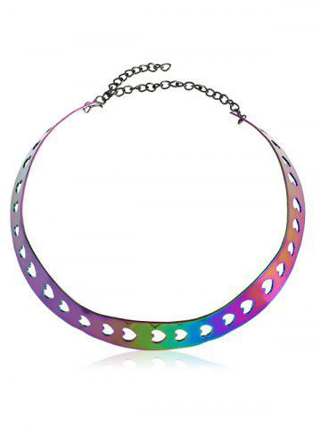 Store Alloy Heart Necklace