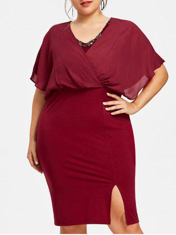 Best Plus Size Evening Blouson Dress