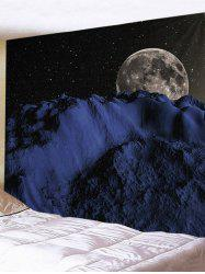 Starry Night Earth Print Wall Art Tapestry -
