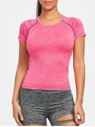 Exposed Seam Workout T-shirt -