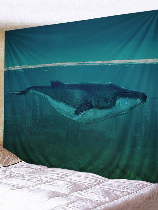 Shops Sea Cetacean Print Wall Art Tapestry