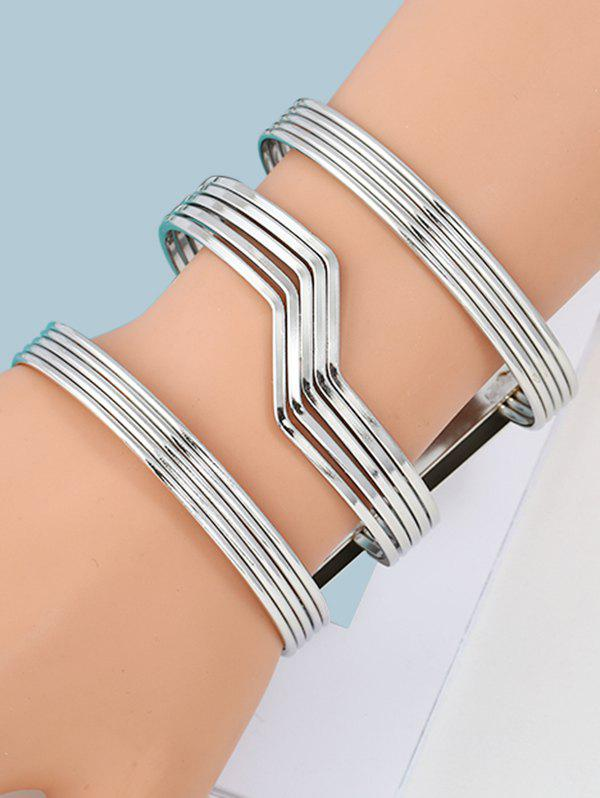 New Simple Alloy Cuff Bracelet