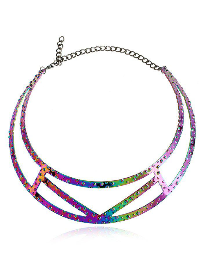 Hot Simple Alloy Geometric Necklace