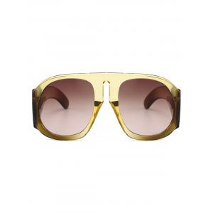 Anti Fatigue Oversized Thick Frame Sunglasses -