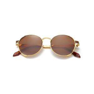 Hollow Out Metal Full Frame Sun Shades Sunglasses -