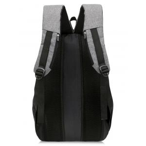 USB Charging Port Casual Trips Travel Backpack -