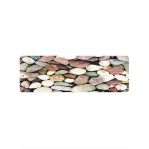 Stones Pattern Anti-skid Water Absorption Area Rug -