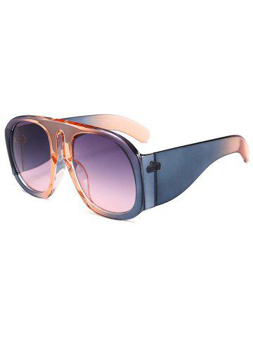 Latest Anti Fatigue Oversized Thick Frame Sunglasses