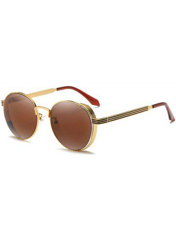 Unique Hollow Out Metal Full Frame Sun Shades Sunglasses