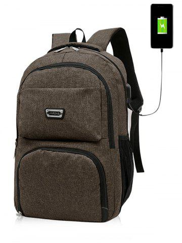 Unique USB Charging Port Casual Trips Travel Backpack