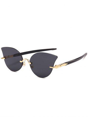 Store Anti UV Rimless Pearl Driver Sunglasses