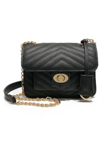 Shop Minimalist Quilted Shopping Crossbody Bag