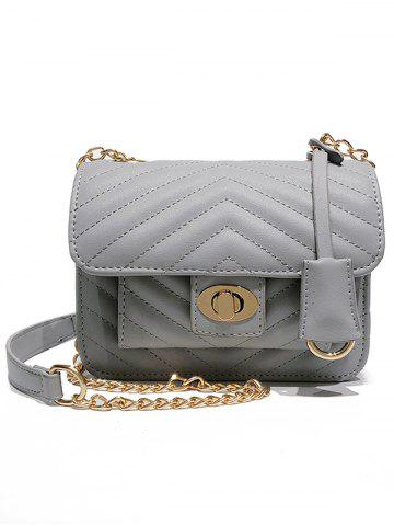 Unique Minimalist Quilted Shopping Crossbody Bag