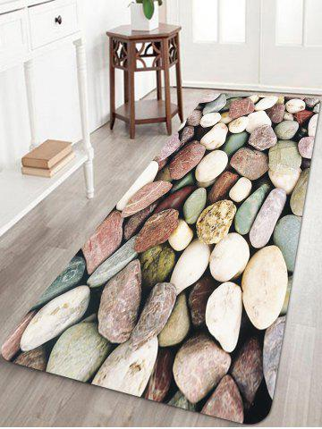 Sale Stones Pattern Anti-skid Water Absorption Area Rug