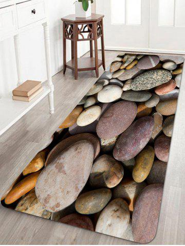 Shops Pebbles Pattern Anti-skid Water Absorption Area Rug