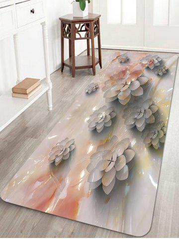Hot Succulents Pattern Anti-skid Floor Area Rug
