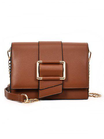 New Faux Leather Shopping Crossbody Bag