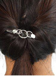 Simple Metal Circle Hairpin -