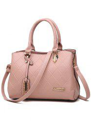 Minimalist Quilted Chic Tote Bag -
