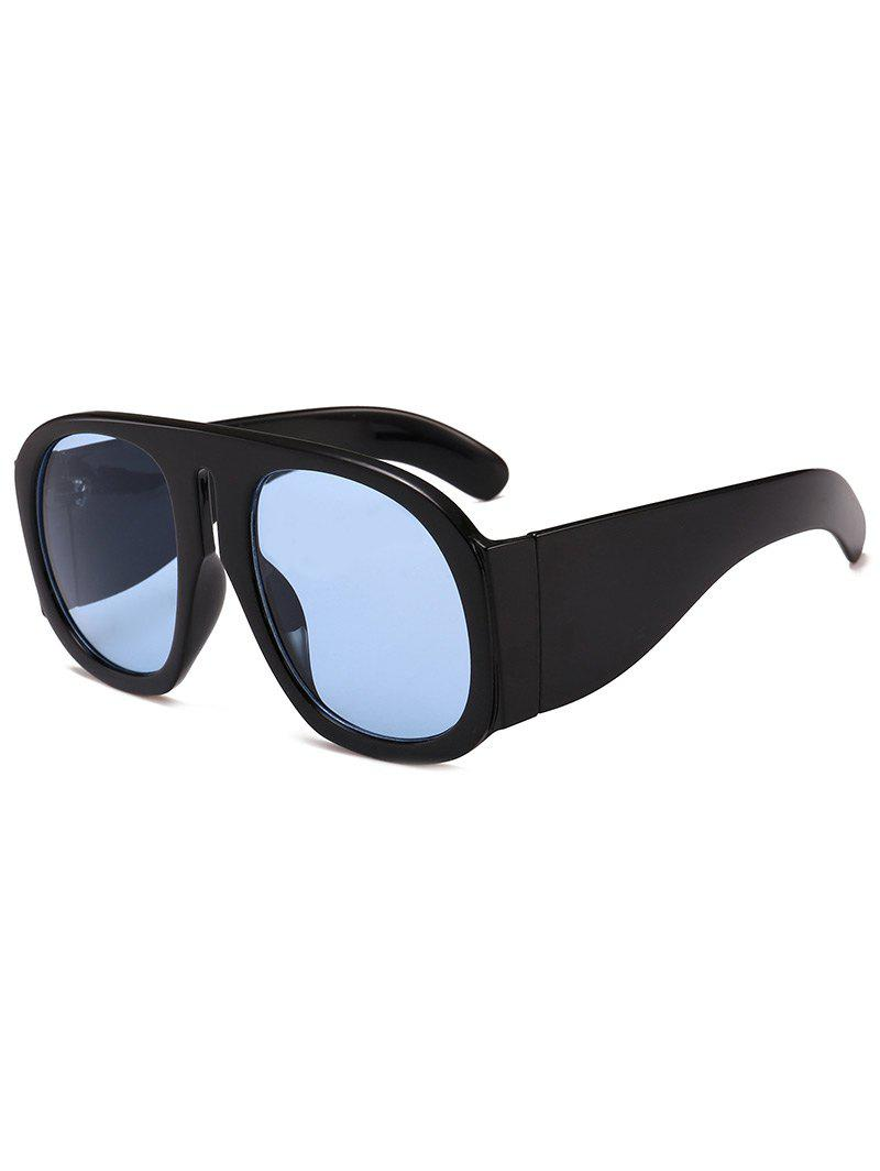 Hot Anti Fatigue Oversized Thick Frame Sunglasses