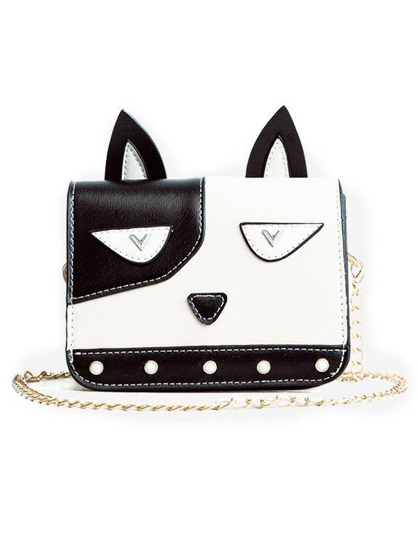Sale Flap PU Leather Cartoon Crossbody Bag