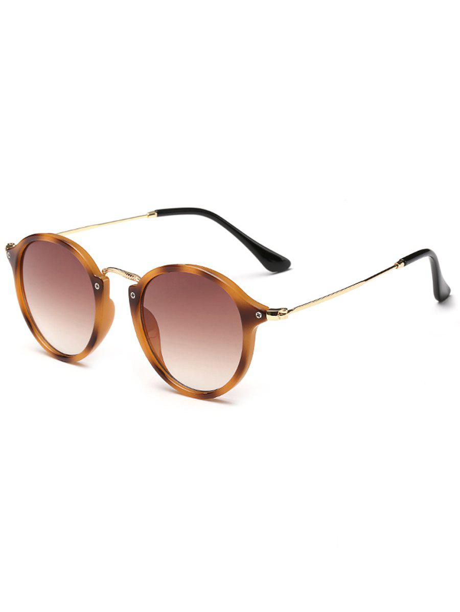 Fancy Metal Full Frame Sun Shades Sunglasses