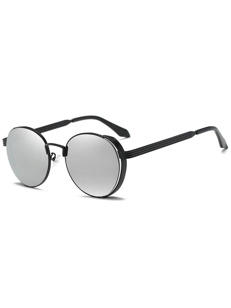 Online Hollow Out Metal Full Frame Sun Shades Sunglasses