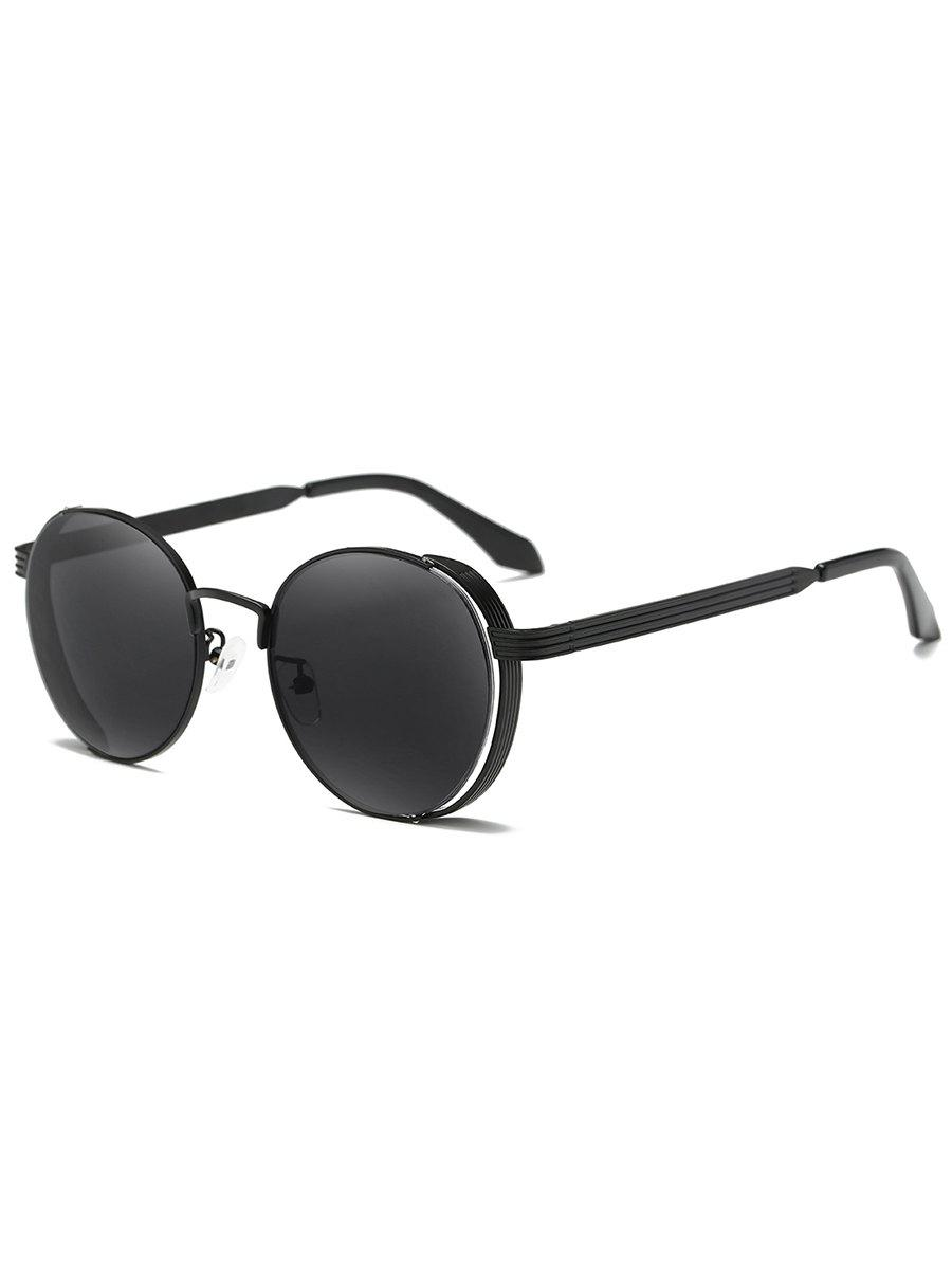 Outfit Hollow Out Metal Full Frame Sun Shades Sunglasses