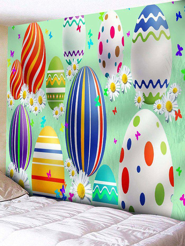 Shops Cartoon Easter Egg Print Wall Tapestry