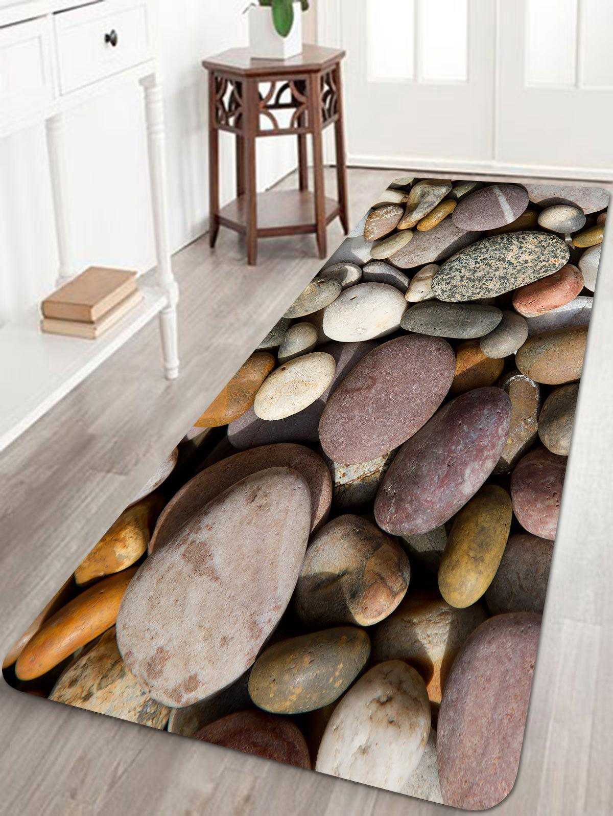 Sale Pebbles Pattern Anti-skid Water Absorption Area Rug