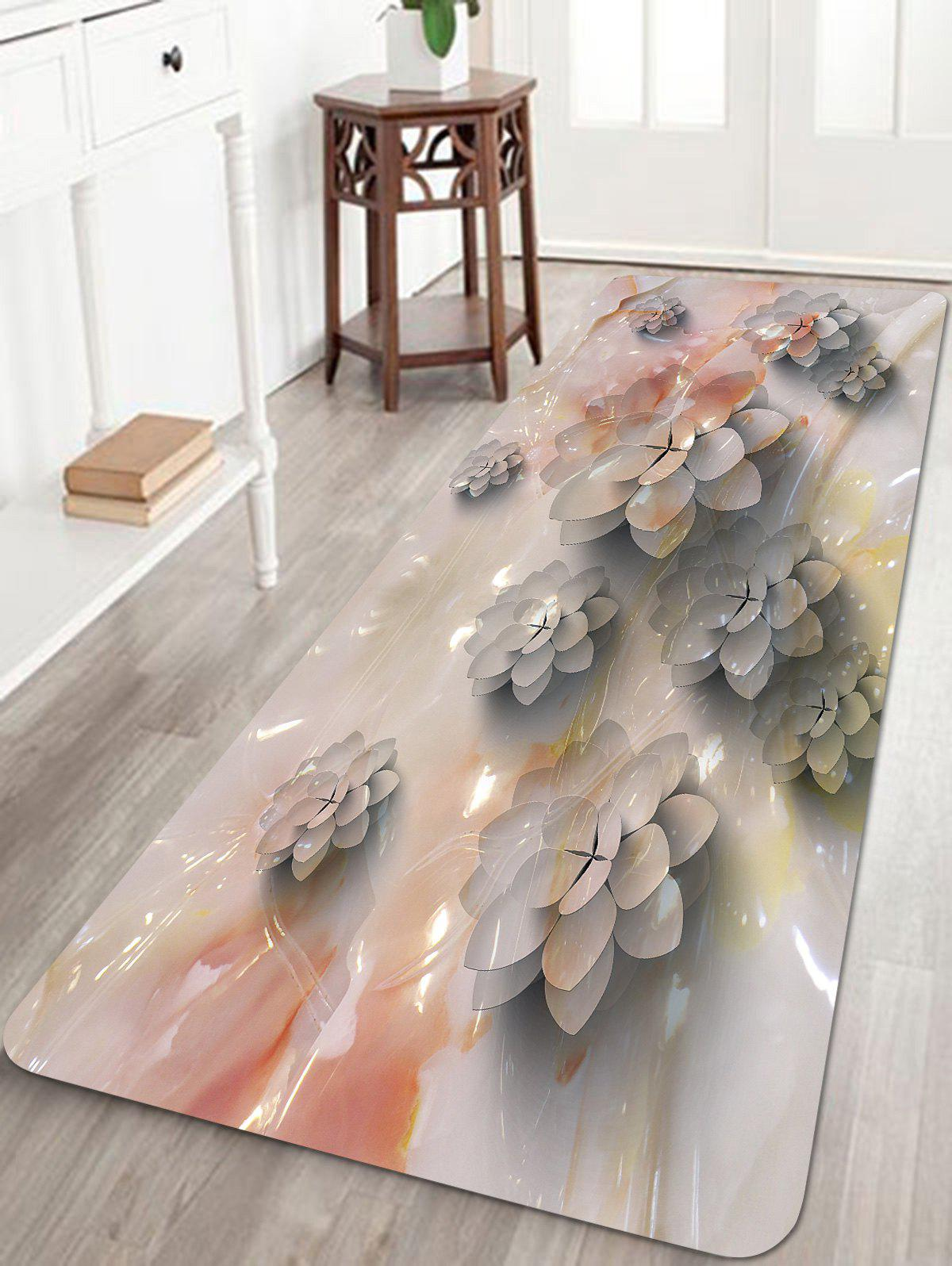 Fashion Succulents Pattern Anti-skid Floor Area Rug