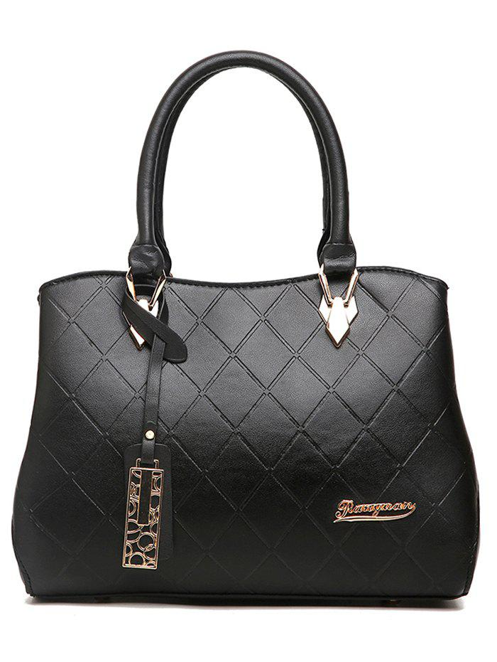 Trendy Minimalist Quilted Chic Tote Bag