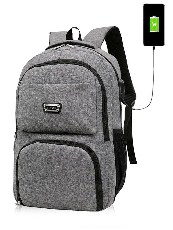 Sale USB Charging Port Casual Trips Travel Backpack