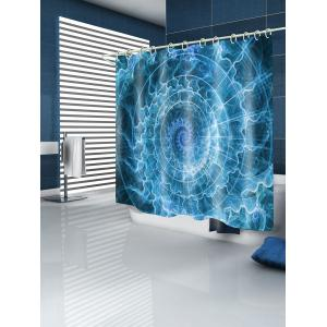 Volution Printed Waterproof Fabric Bath Shower Curtain -