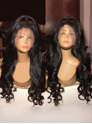 Long Free Part Loose Wave Lace Front Synthetic Wig -