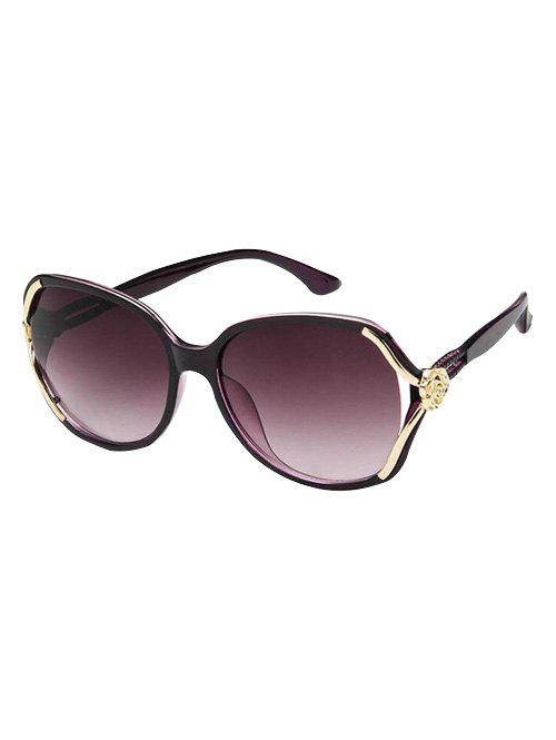 Outfits Unique Carved Floral Hollow Out Sunglasses