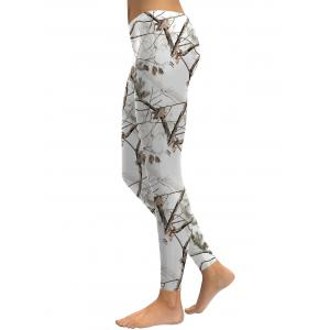 Branch Pattern Leggings -