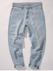 Tapered Fit Nine Minutes of Jeans -