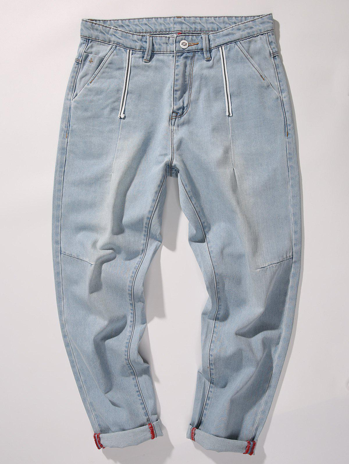 Online Tapered Fit Nine Minutes of Jeans