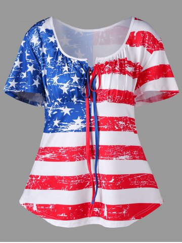 Empire Waist Patriotic Tee