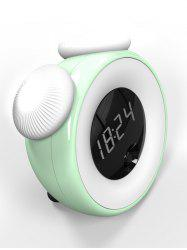 Motion Sensor Digital Alarm Clock with Dimmable Night Light -