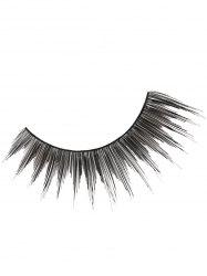 Pair of Handmade Reusable Long Cross False Eyelashes -