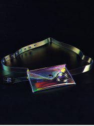 Unique Fanny Pack Plastic Transparent Belt -